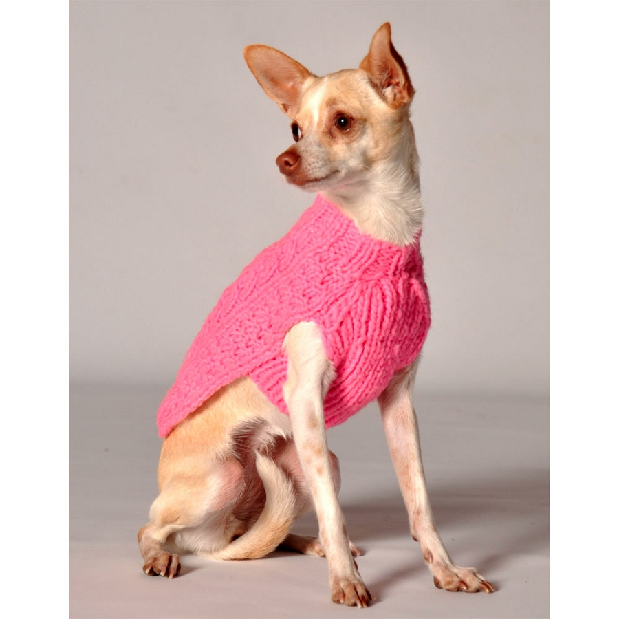 Knitting Dog Clothes : Knit puppy sweater cashmere england