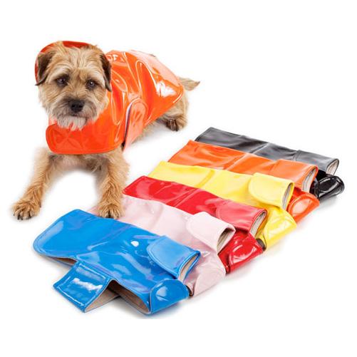 Classic Waterproof Lined Dog Raincoats Designer Dog