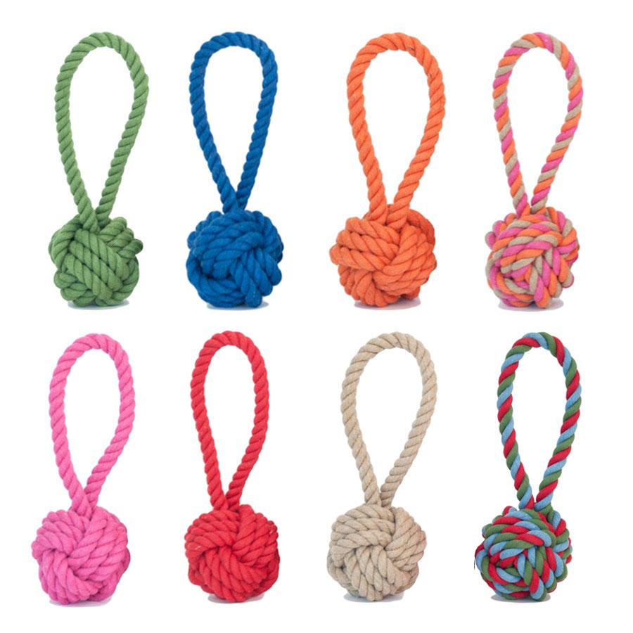 Cotton Rope Tug Toy By Harry Barker