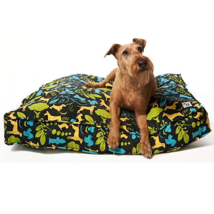 Diy Dog Bed Out Of Old Duvet