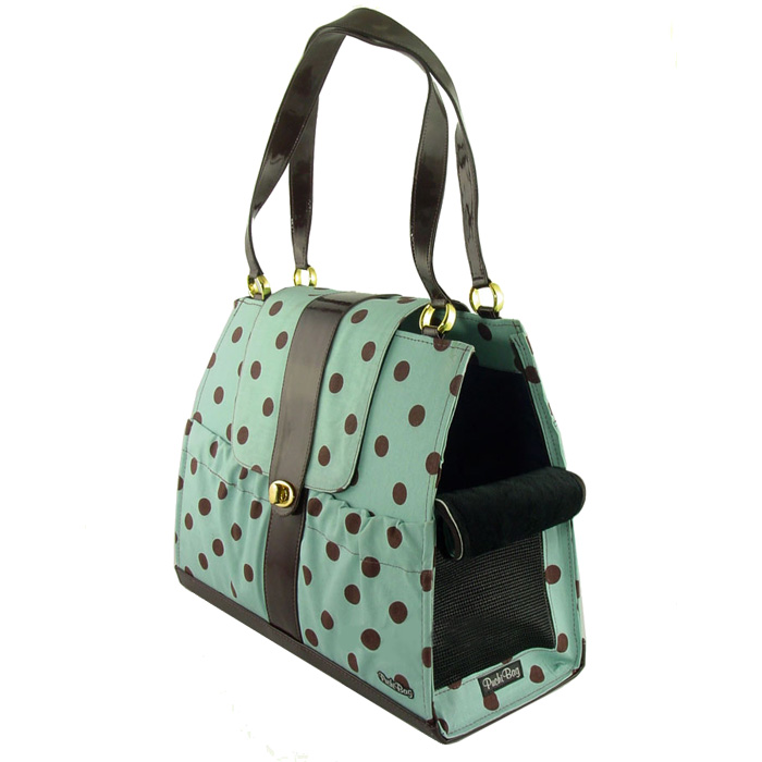 Tiffany Dots Dog Carrier Purse Designer Pet Carriers at Glamourmutt ...