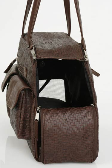 Berkshire Woven Tote Dog Carrier Designer Dog Carriers