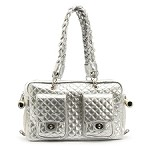 Alex Luxe Chains Dog Carrier by Kwigy Bo - Silver