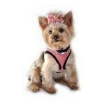 Choke Free Dog Harness- Salmon Rose