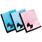 Coco Bow Quilted Dog Blanket - 3 Colors
