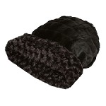 Cuddle Cup Dog Bed - Black Curley Sue