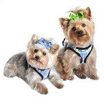 Choke Free Dog Harness - Blue Plaid