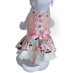 Ice Cream Treats Harness Dog Dress