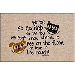 Excited Dog - Doormat