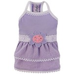Felicity Flower Lilac Dog Dress