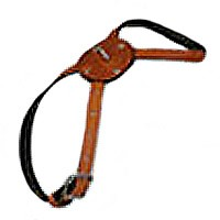 Figure Eight Leather Dog Harness - Natural Tan