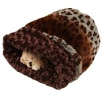 Cuddle Cup Dog Bed - Leopon Lynx