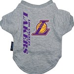 Los Angeles Lakers Dog Shirt