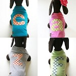 Monogram Dog Shirts by Mimi Green