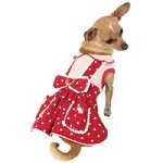 Pollyanna Polkadot Dog Dress
