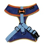 Sporty Mesh Dog Harness - Blue