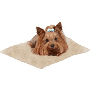 Susan Lanci Dog Carrier Blanket - Buff Camel