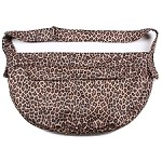 Cuddle Dog Carrier by Susan Lanci - Cheetah Luxe Suede