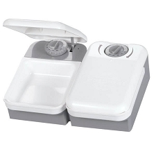 Automatic Timed 2-Meal Pet Feeder