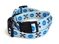 Blue 3D Skurvy Dog Collar by Paul Frank