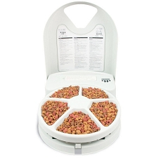 Automatic Timed 5-Meal Pet Feeder