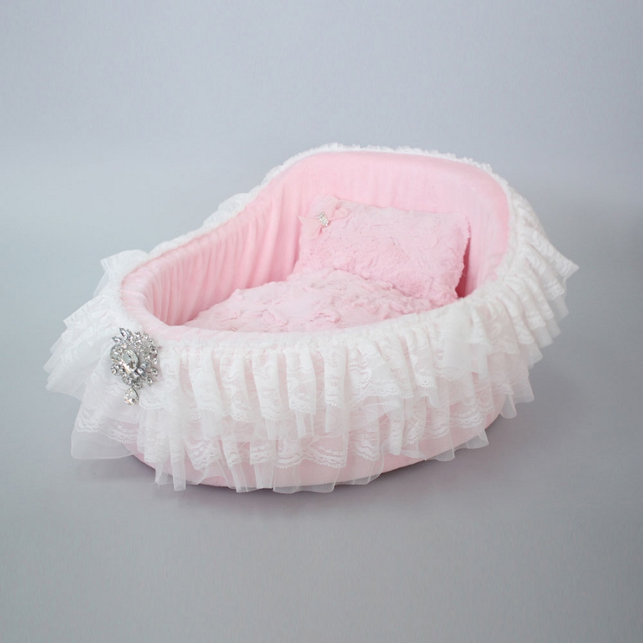 Bassinet Dog Bed In Baby Doll Glamour Mutt