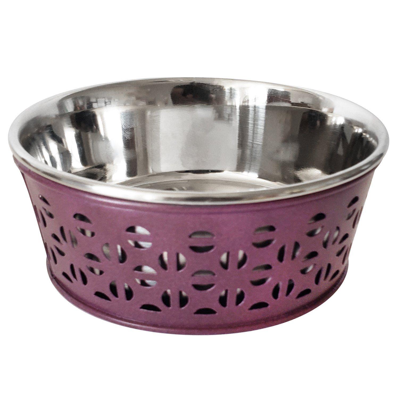 Bordeaux Dog Bowl Set