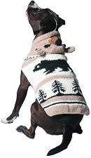 Brown Bear Dog Hoodie by Chilly Dog