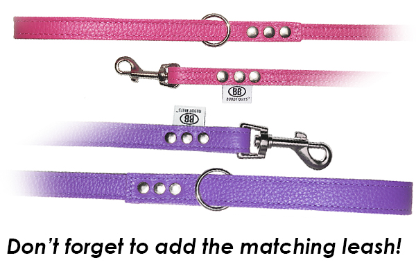 buddy belt luxury leashes