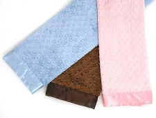 Canine Styles Soft Dottie Blankets- 3 Colors