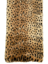 Canine Styles Soft Faux Fur Leopard Blanket