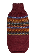 Cheery Bands Alpaca Dog Sweater