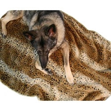 Faux Fur Luxury Dog Mat Bed - 16 Colors