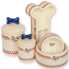 French Bistro Collection Bowls & Treat Jars