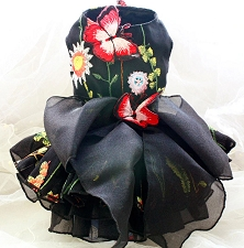 Madame Butterfly Couture Dog Dress