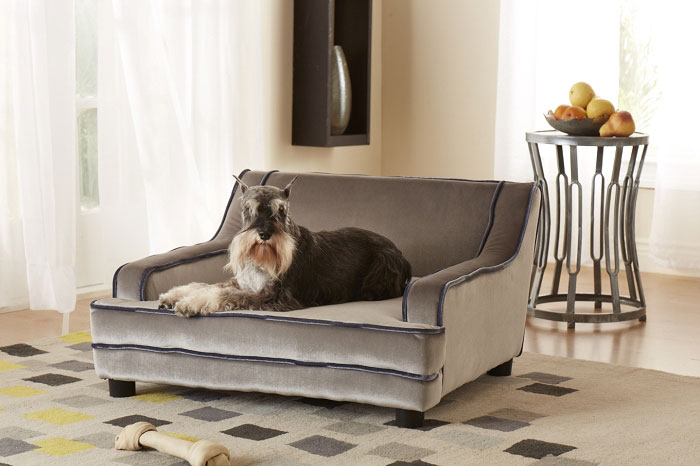 Mid Century Contempo Dog Sofa Designer Dog Beds At