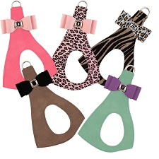 Two-Tone Big Bow Step-In Harness- Custom Colors