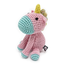 Unicorn Crochet Dog Toy