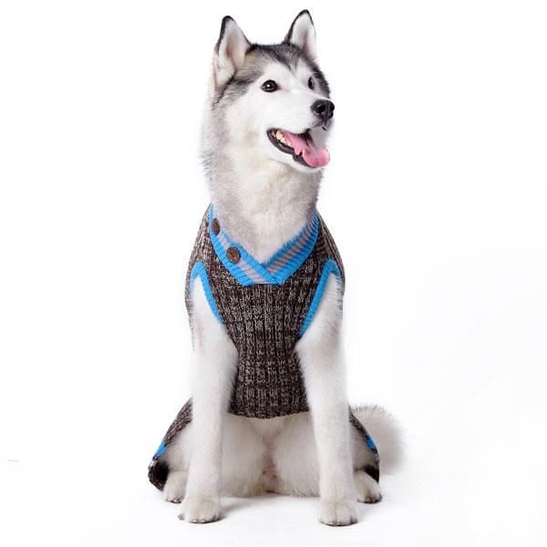 Urban V Neck Dog Sweater
