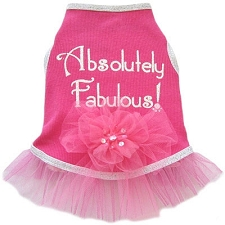 Absolutely Fabulous Pink Dog Dress