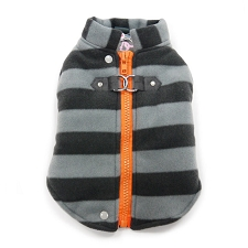 Active Fleece D-Ring Dog Coat
