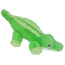 Alligator Plush Dog Toy