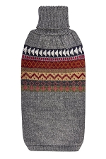 Imagine Alpaca Dog Sweater in Grey