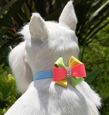 Angela Pinwheel Collar by Susan Lanci