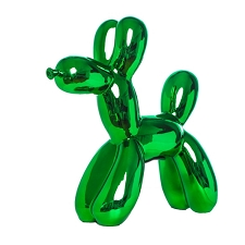 Balloon Dog Bank- Kelly Green