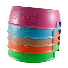 Eco-Friendly Bamboo Dog Bowls