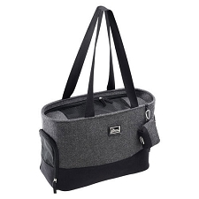 Barcelona Dog Carrier- Grey