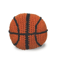 Basketball Cotton Knit Dental Dog Toy