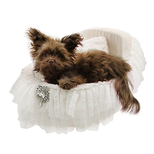 Bassinet Dog Bed- Snow White