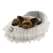 Bassinet Dog Bed- Sterling
